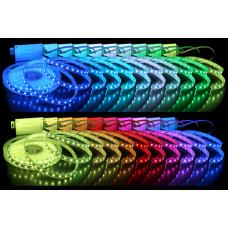 Герметичная светодиодная лента SMD 5050 60LED/m IP65 12V RGB
