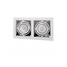 214020 Светильник CARDANO 16Х2 MR16/HP16 белый (в комплекте)