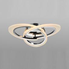 00147-8-30W-4000К Люстра светодиодная потолочная хром