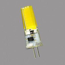 G4-220V-3W(5W)-6000K Лампа LED COB (силикон)
