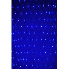 Сетка синяя IP44 3м*2м 384PCS 30,7W220V светодиодная